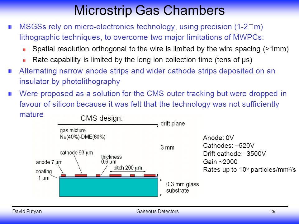 Microstrip Gas Chambers
