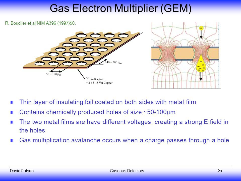 Gas Electron Multiplier (GEM)
