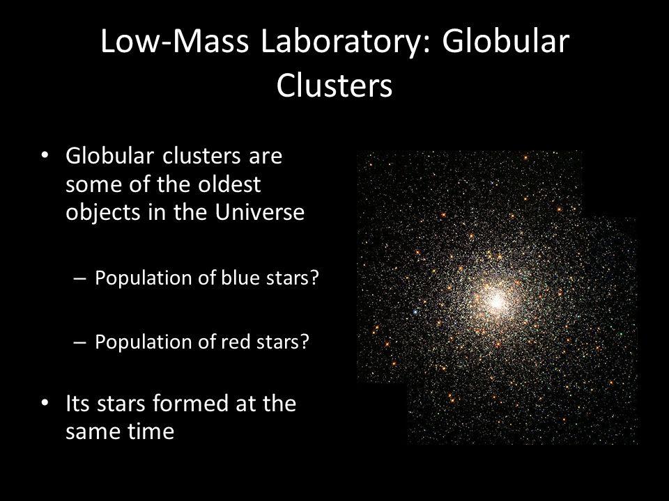 Low-Mass Laboratory: Globular Clusters