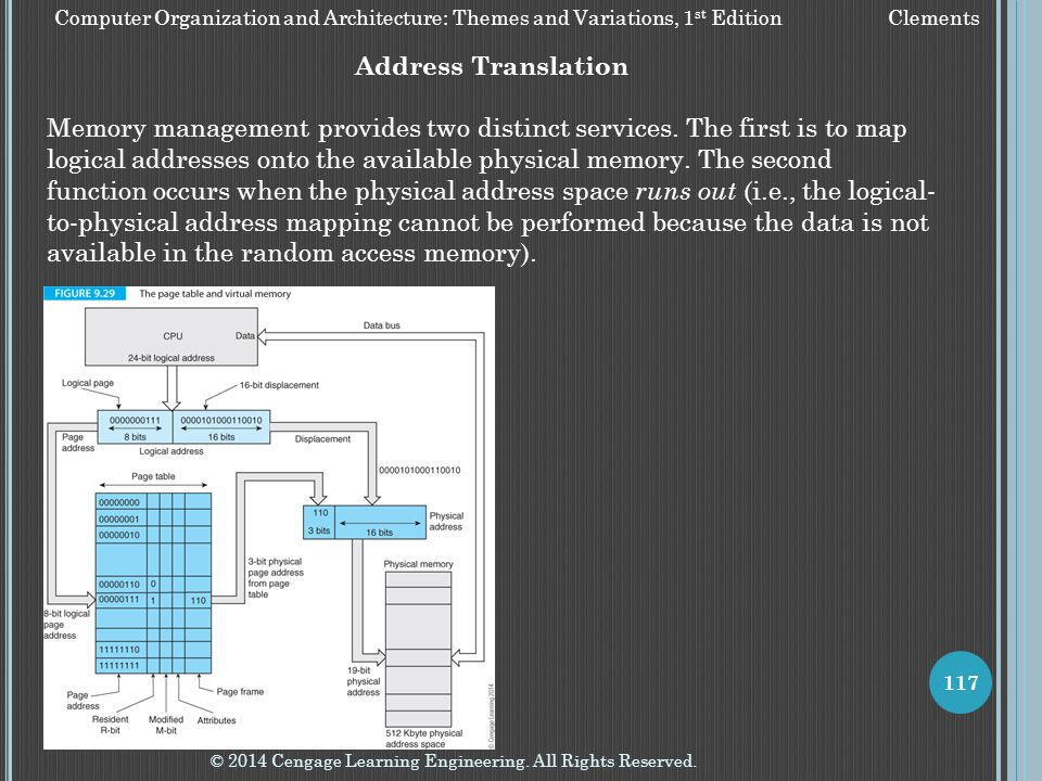 Computer Organization and Architecture: Themes and Variations, 1st Edition Clements