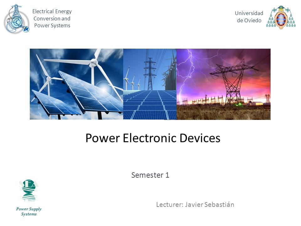 Power Electronic Devices