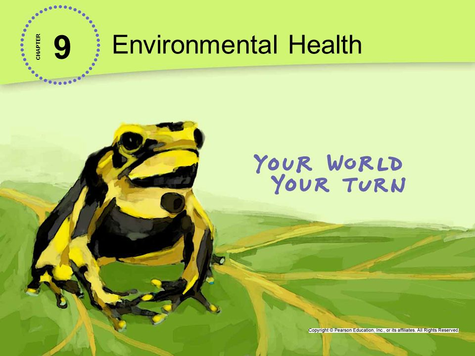 Environmental Health 9. CHAPTER.