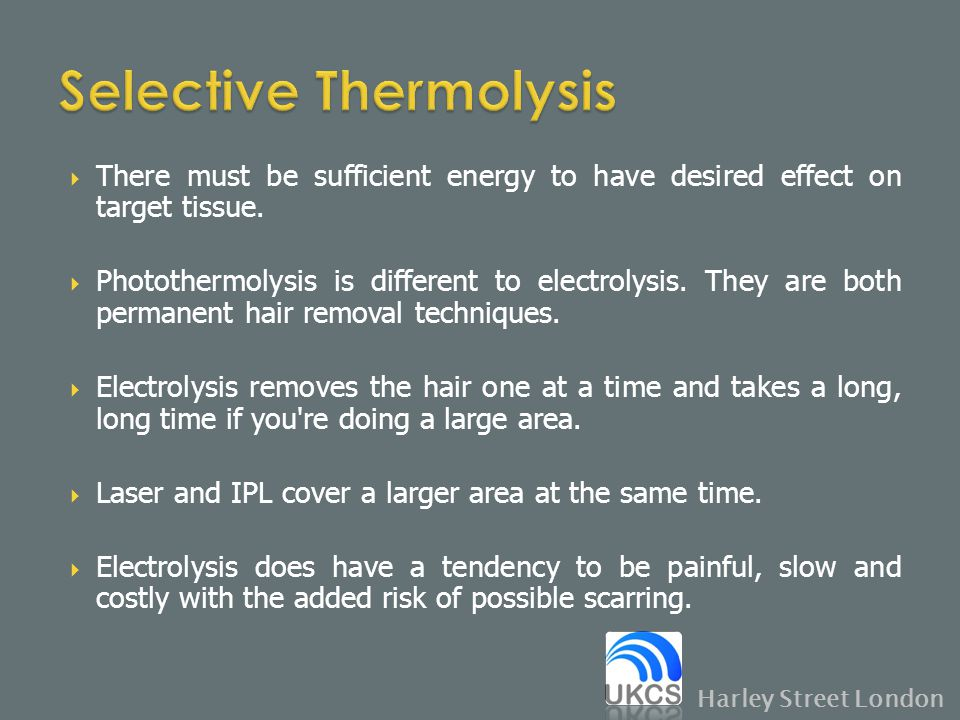 Selective Thermolysis