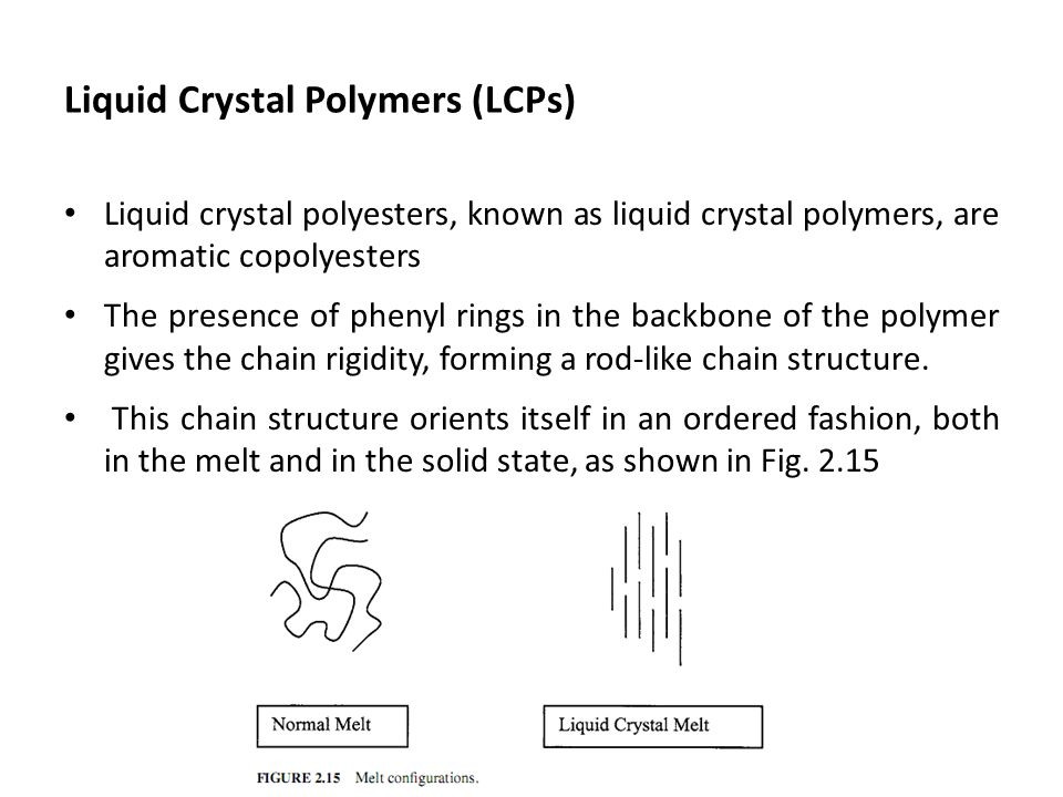 Liquid Crystal Polymers (LCPs)