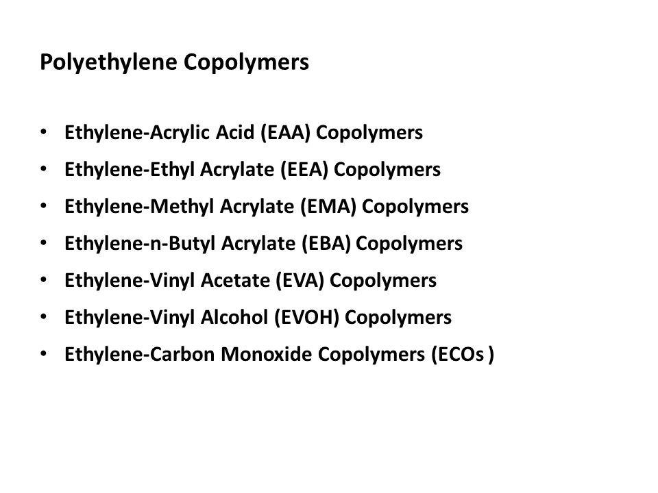 Polyethylene Copolymers