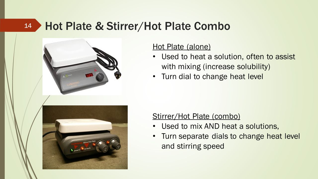 Hot Plate & Stirrer/Hot Plate Combo