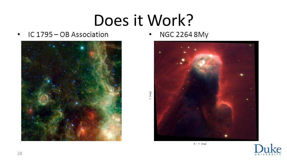 Does it Work IC 1795 – OB Association NGC 2264 8My Cone nebula