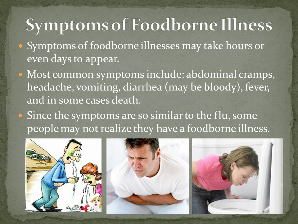 Symptoms of Foodborne Illness