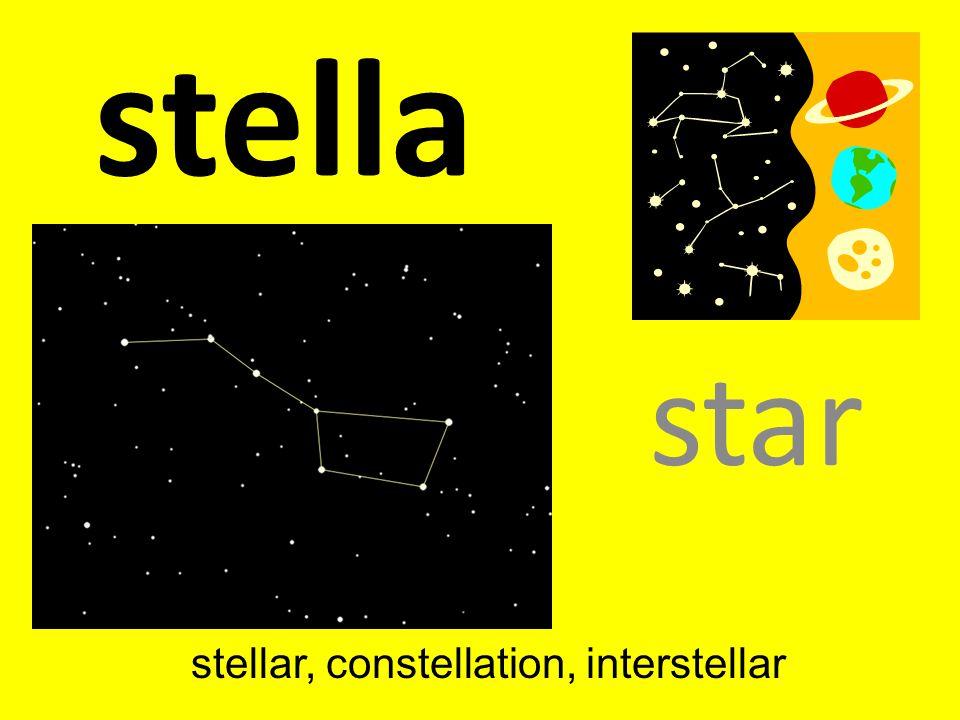 stellar, constellation, interstellar