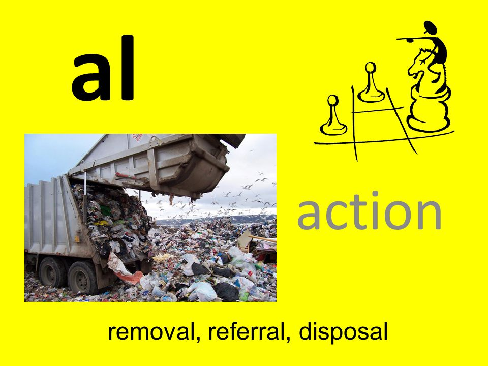 removal, referral, disposal