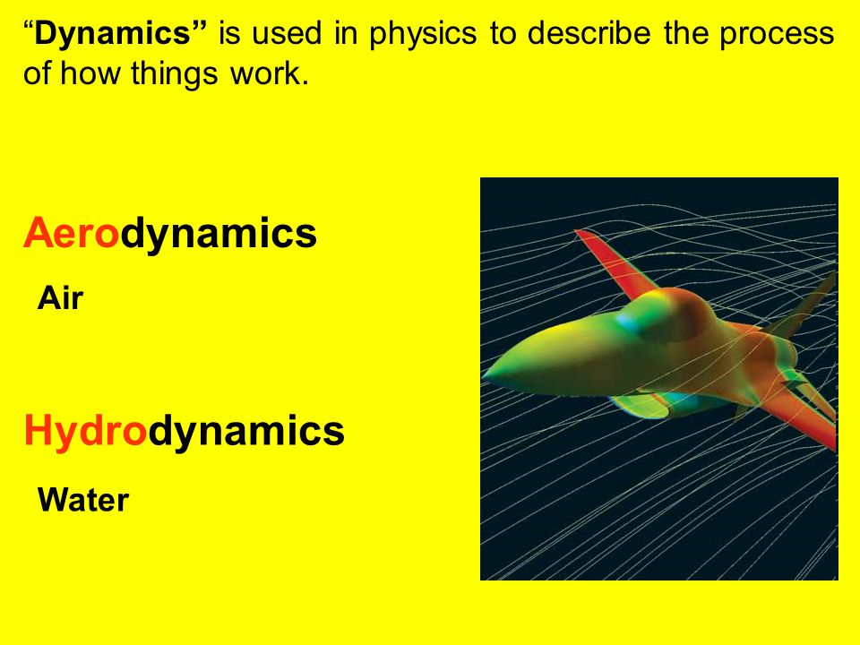 Aerodynamics Hydrodynamics