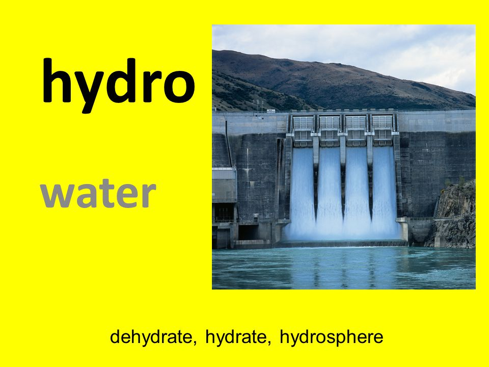 dehydrate, hydrate, hydrosphere