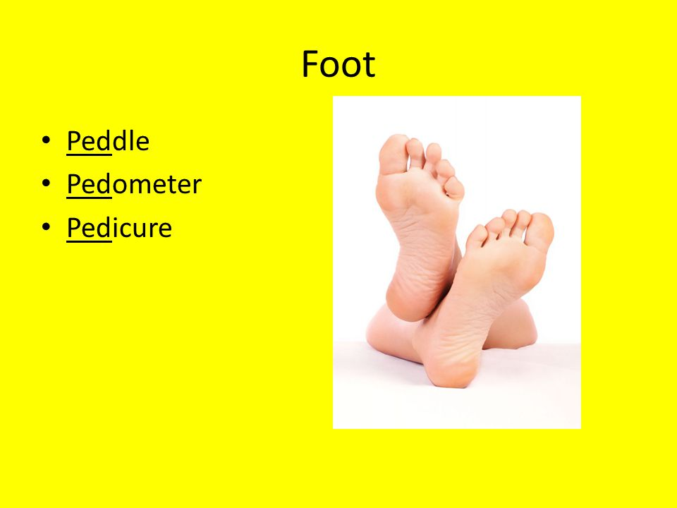 Foot Peddle Pedometer Pedicure