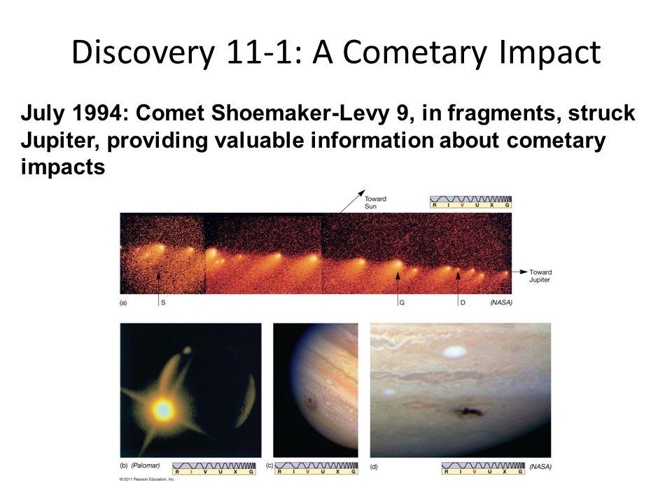 Discovery 11-1: A Cometary Impact