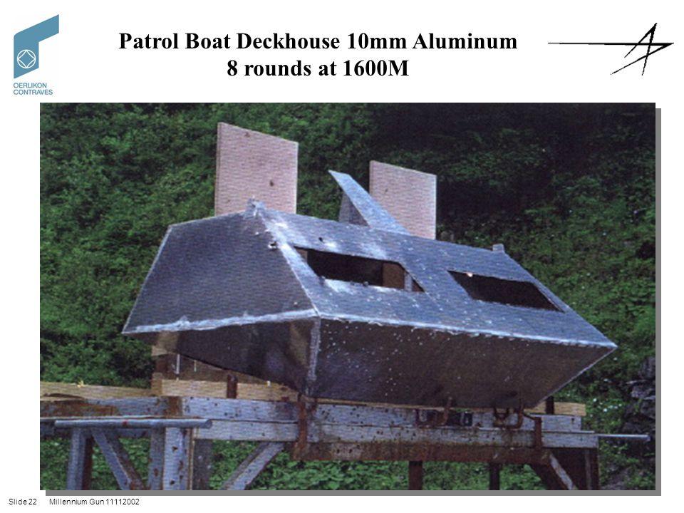 Patrol Boat Deckhouse 10mm Aluminum