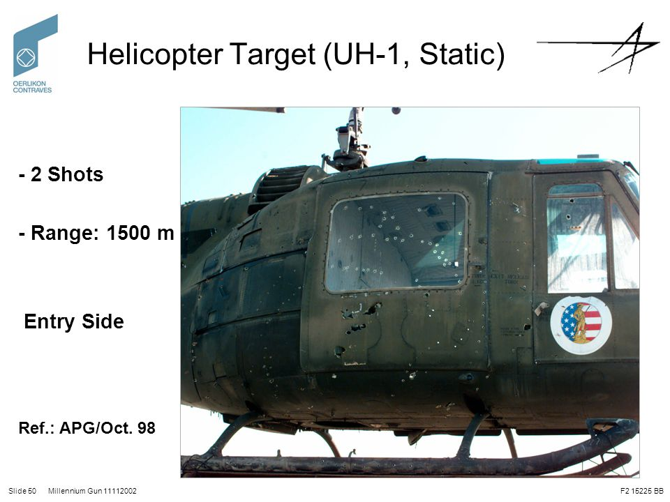 Helicopter Target (UH-1, Static)