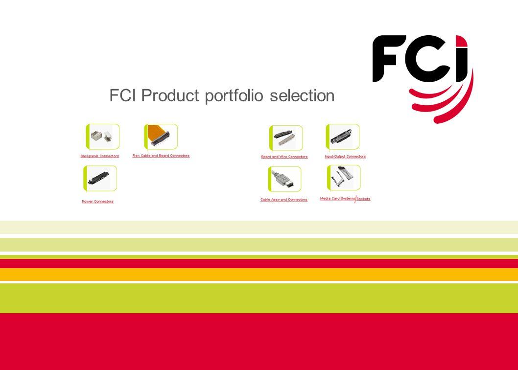 FCI Product portfolio selection