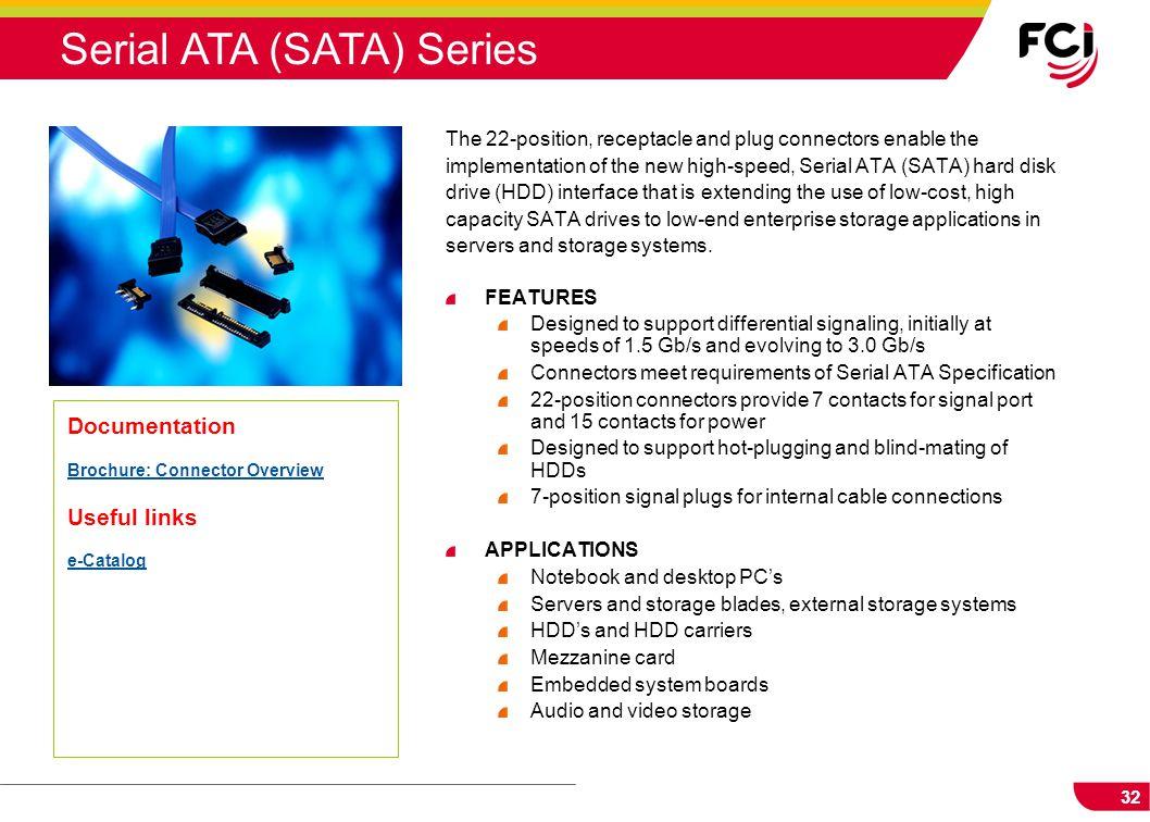 Serial ATA (SATA) Series