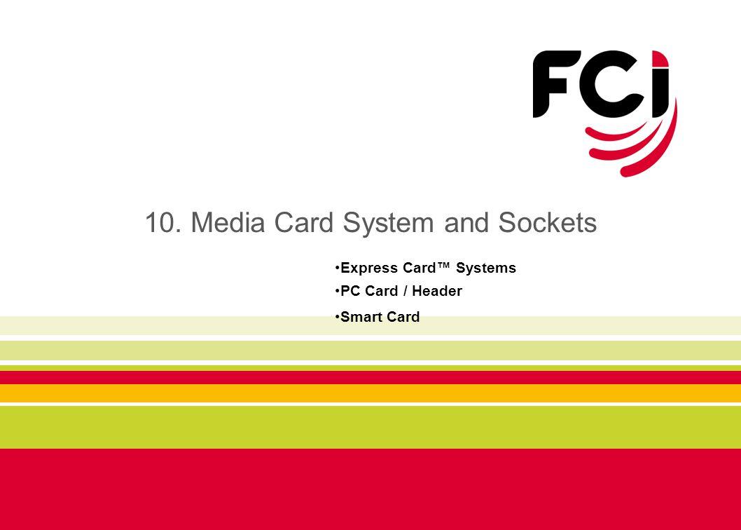 10. Media Card System and Sockets