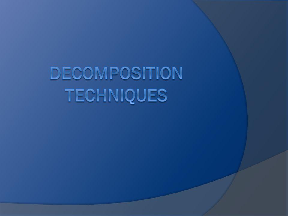 Decomposition Techniques