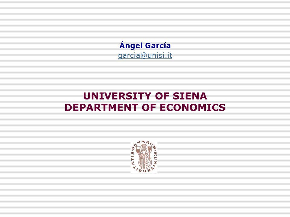 DEPARTMENT OF ECONOMICS