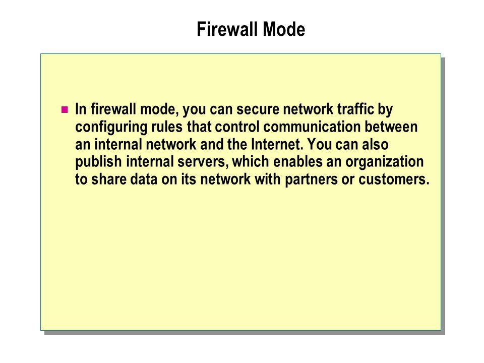 Firewall Mode