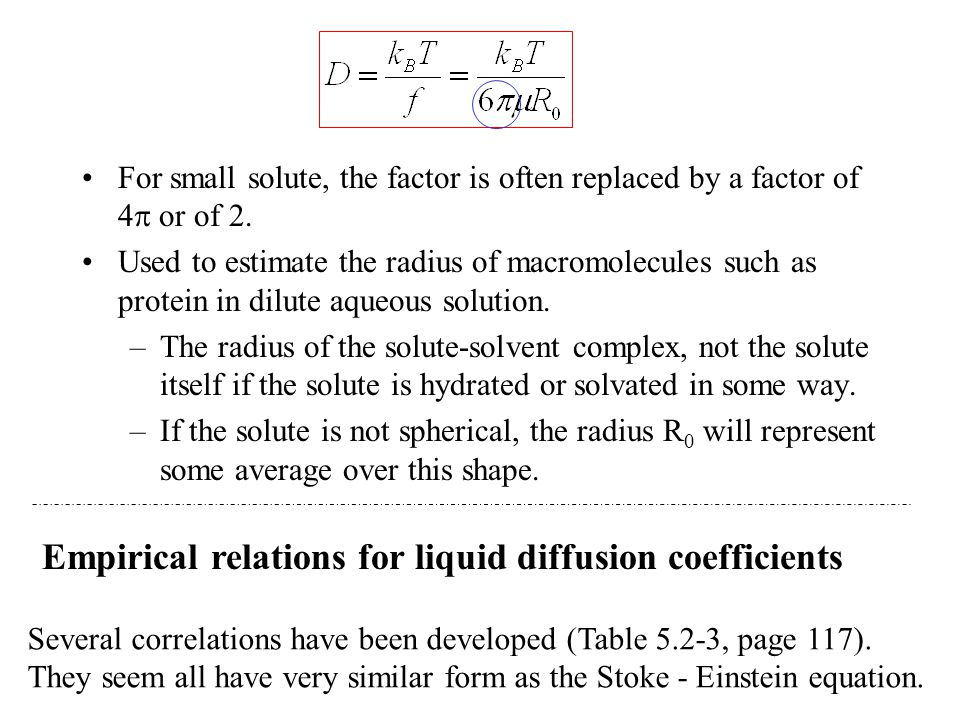 Empirical relations for liquid diffusion coefficients