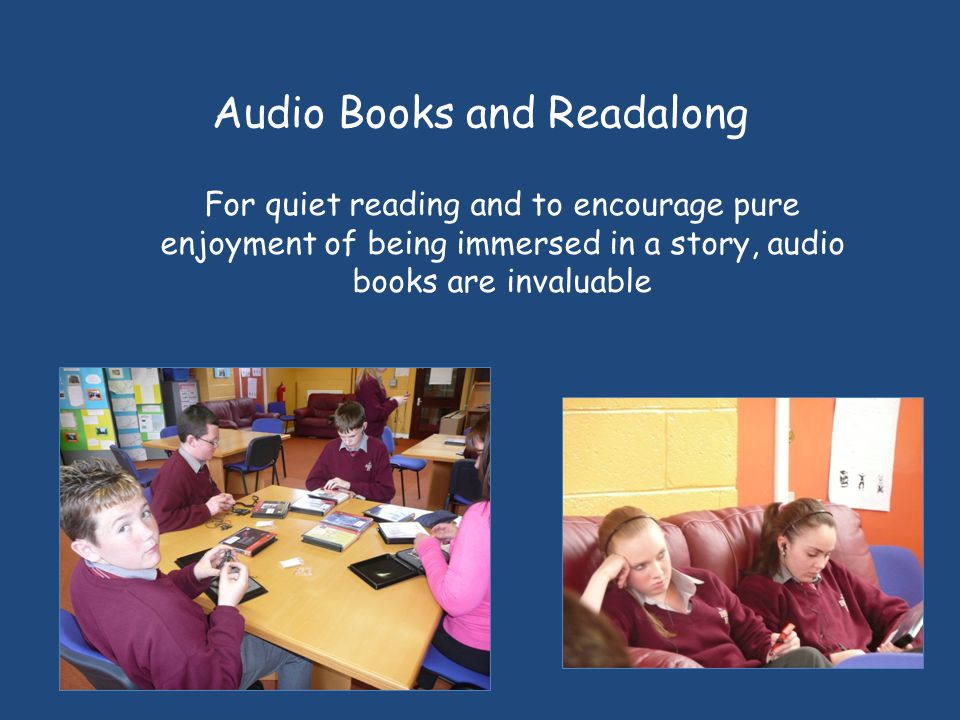 Audio Books and Readalong