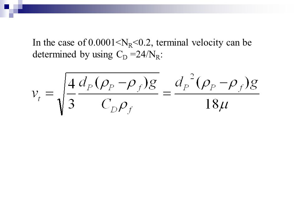 In the case of 0. 0001<NR<0