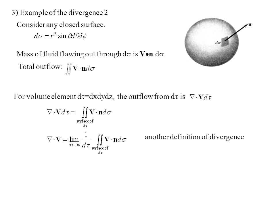 3) Example of the divergence 2