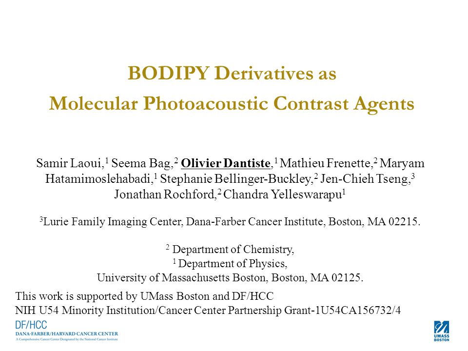 Molecular Photoacoustic Contrast Agents