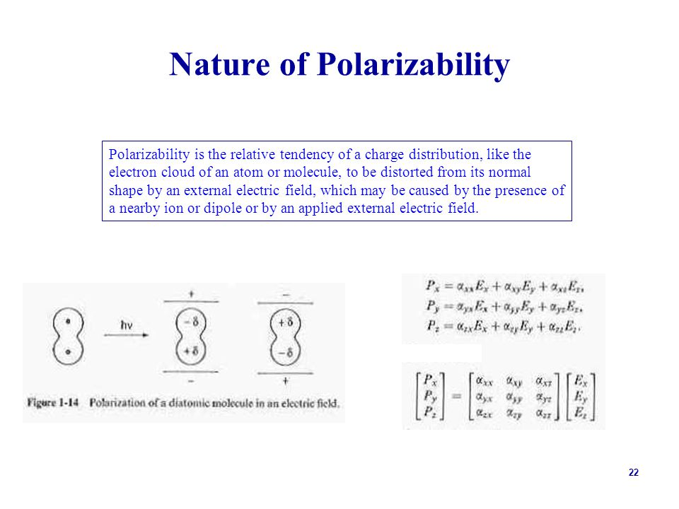 Nature of Polarizability