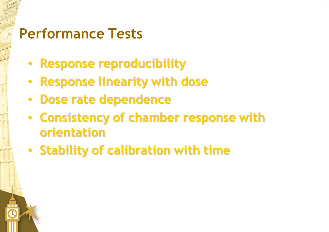 Performance Tests Response reproducibility