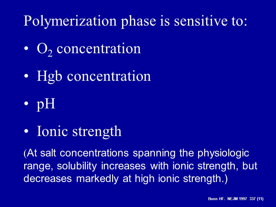 Polymerization phase is sensitive to: O2 concentration