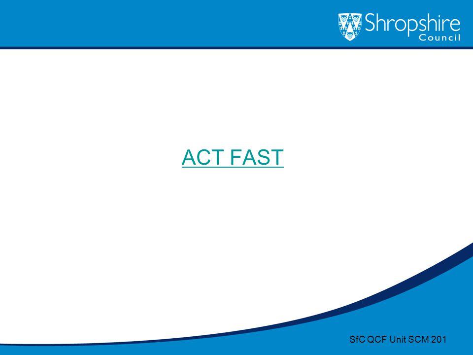 ACT FAST SfC QCF Unit SCM 201