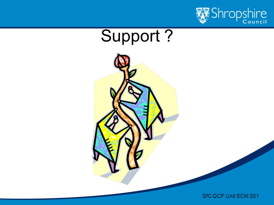 Support SfC QCF Unit SCM 201