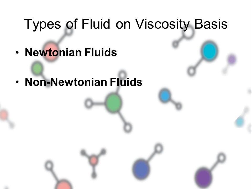 Types of Fluid on Viscosity Basis