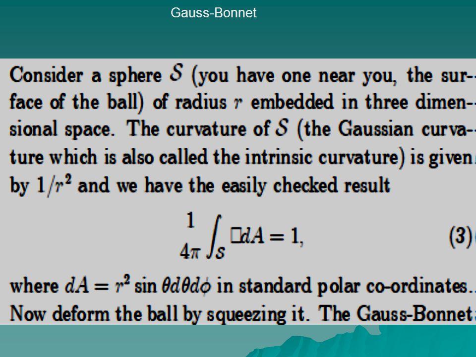 Gauss-Bonnet
