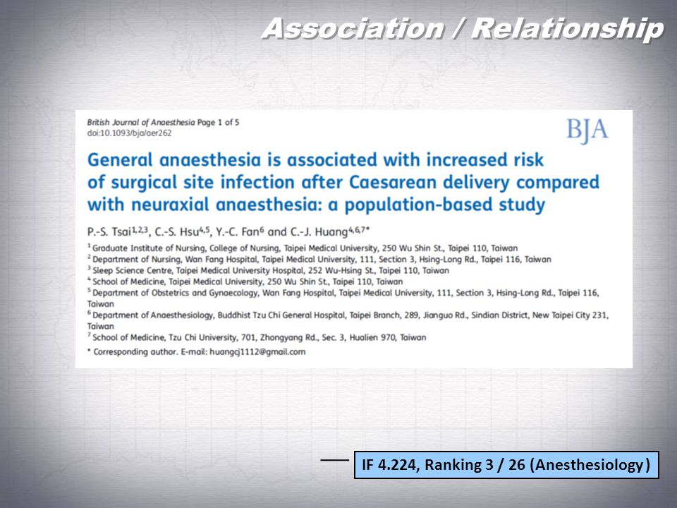 Association / Relationship