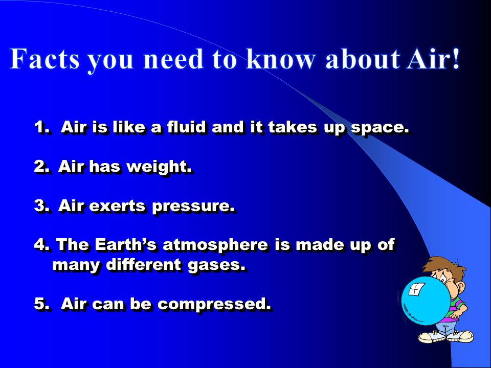 Facts you need to know about Air!