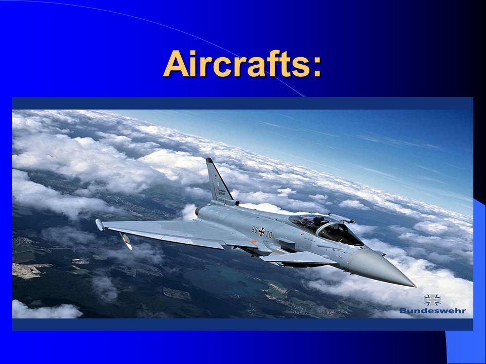 Aircrafts: