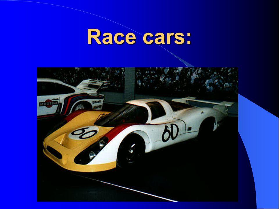 Race cars: