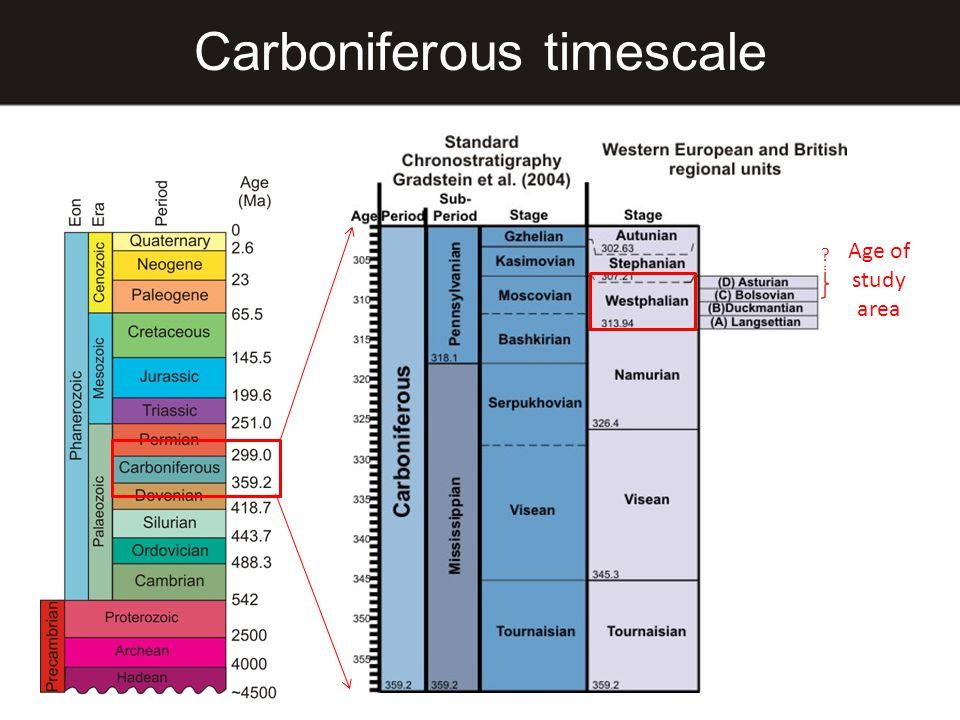 Carboniferous timescale