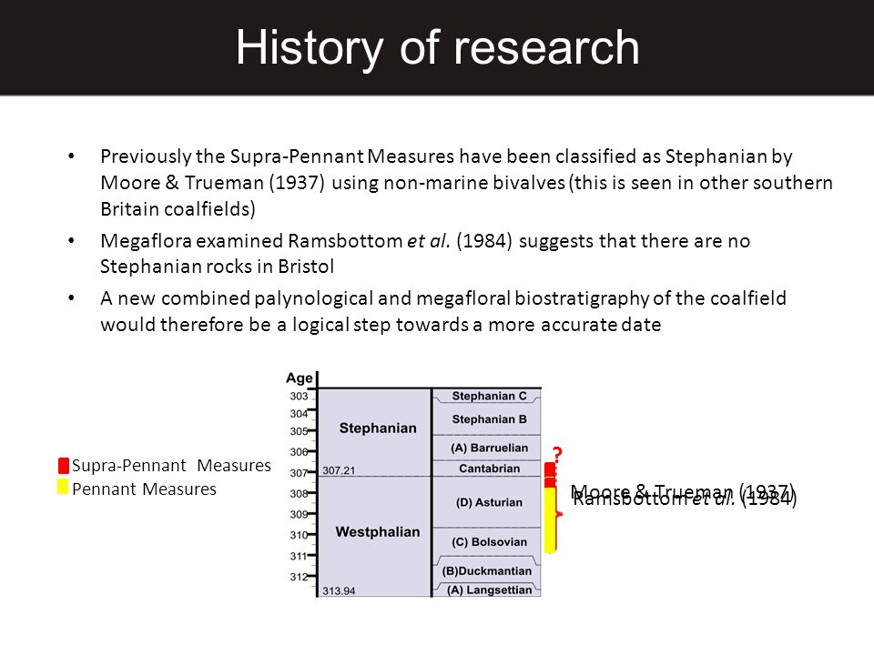 History of research