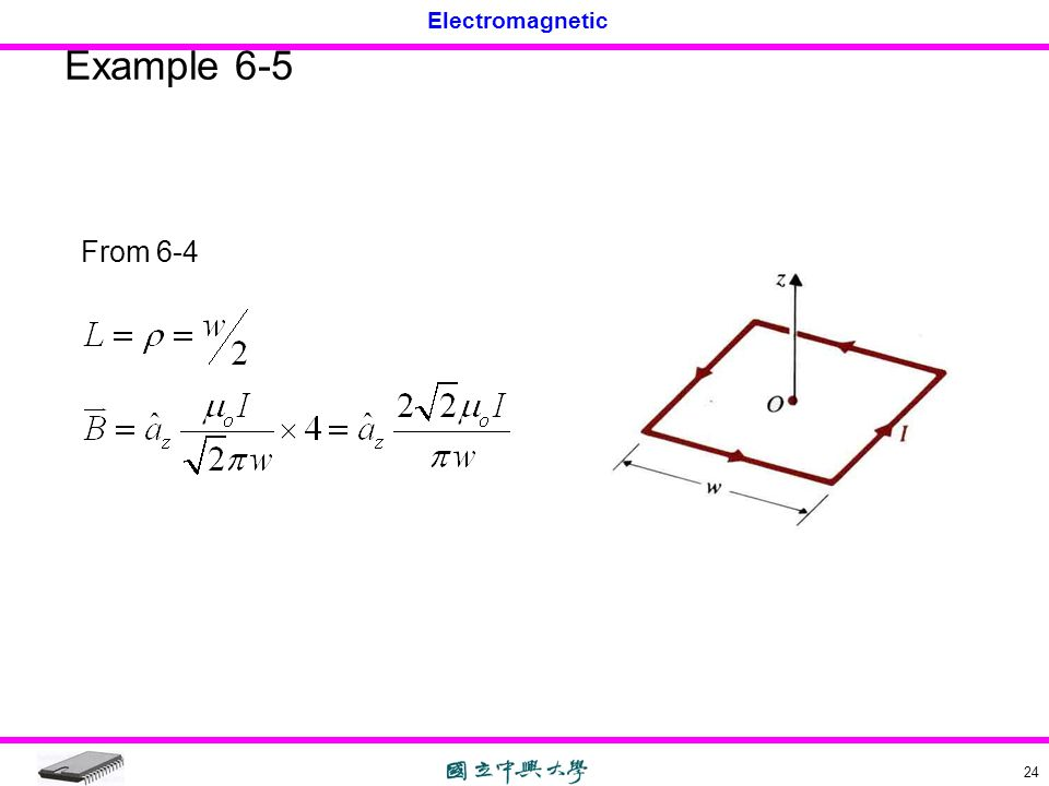 Example 6-5 From 6-4