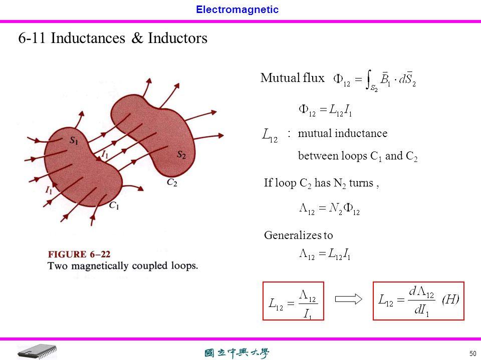 6-11 Inductances & Inductors