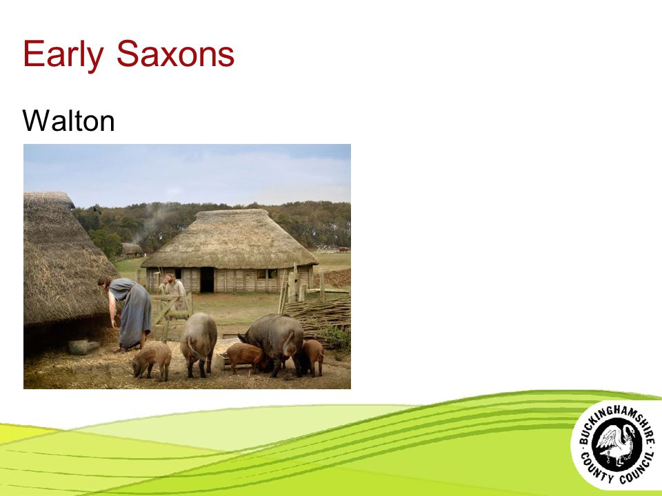 Early Saxons Walton. All images are copyright Buckinghamshire County Council.