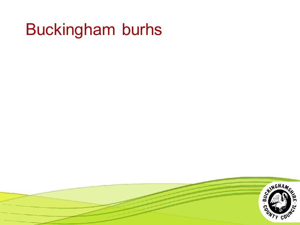 Buckingham burhs Contact smr@buckscc.gov.uk for images.