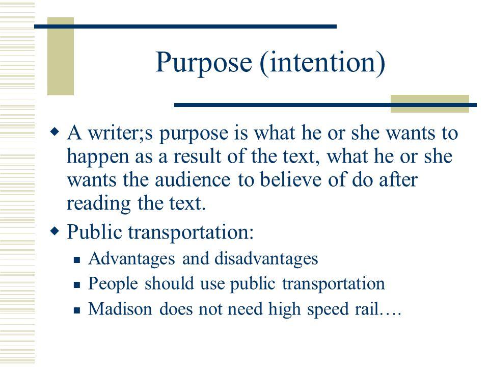 Purpose (intention)