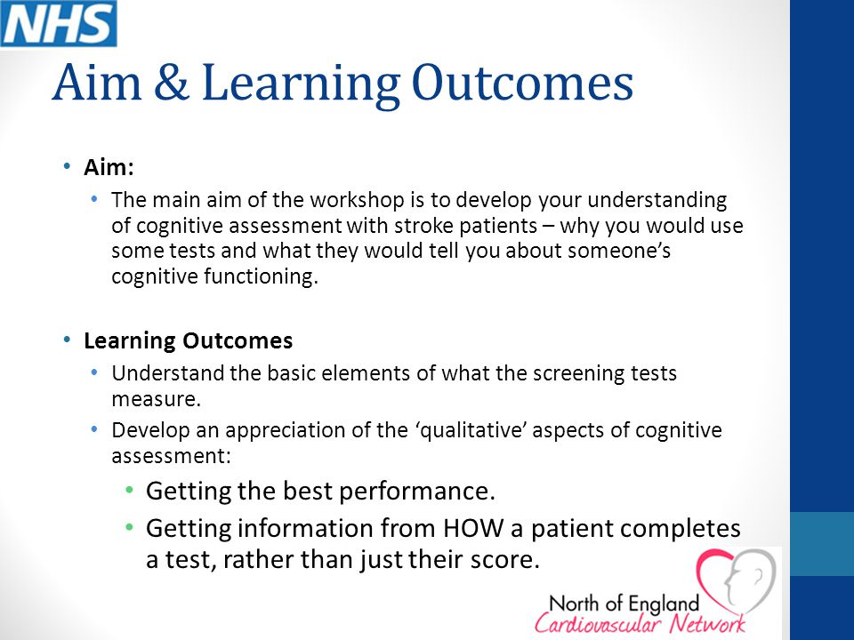 Aim & Learning Outcomes